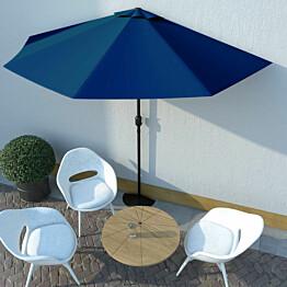 Aurinkovarjo ulkotiloihin alumiinitanko 300x150x253 cm_1
