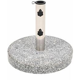 Aurinkovarjon alusta graniitti pyöreä 22 kg_1