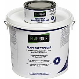 TopCoat pintalakka ElaProof 3,3 kg (A+B) väritön
