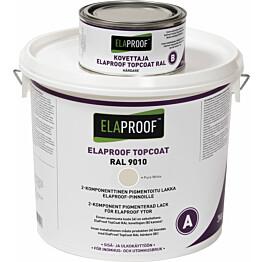TopCoat pintalakka ElaProof 3,375 kg (A+B) RAL 9010