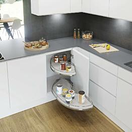 Kulmahylly Beslag Design Cornerstone Maxx keskikoko vasen valkoinen