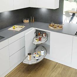 Kulmahylly Beslag Design Cornerstone Maxx keskikoko oikea valkoinen