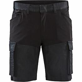 Shortsit Blåkläder 1437 Stretch mariininsininen/musta