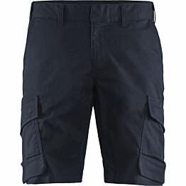 Shortsit Blåkläder 1446 Stretch tummansininen/musta