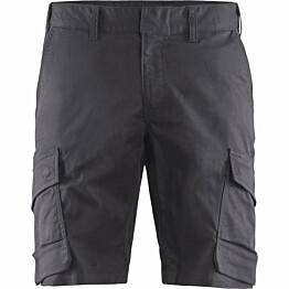 Shortsit Blåkläder 1446 Stretch harmaa/musta