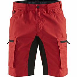 Shortsit Blåkläder 1449 Stretch punainen/musta