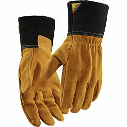 Lämmönkestävät työhanskat Blåkläder 2840 nahkaa ruskea/tummanharmaa