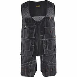 Riipputaskuliivi Blåkläder 3100 musta