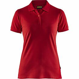 Naisten pikeepaita Blåkläder 3307 punainen