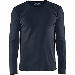 Pitkähihainen t-paita Blåkläder 3314 tummansininen