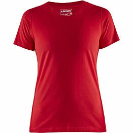 Naisten t-paita Blåkläder 3334 punainen