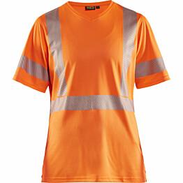 Naisten t-paita Blåkläder 3336 Highvis huomio-oranssi
