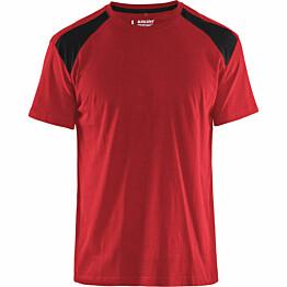 T-paita Blåkläder 3379 punainen/musta