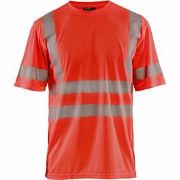 T-paita Blåkläder 3420 Highvis huomiopunainen
