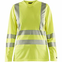 Naisten pitkähihainen t-paita Blåkläder 3485 Highvis huomiokeltainen
