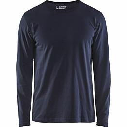 Pitkähihainen t-paita Blåkläder 3500 tummansininen