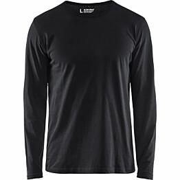 Pitkähihainen t-paita Blåkläder 3500 musta
