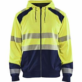 Huppari Blåkläder 3546 Highvis huomiokeltainen/sininen
