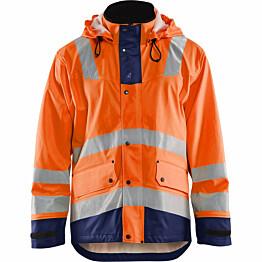 Sadetakki Blåkläder 4302 huomio-oranssi/sininen