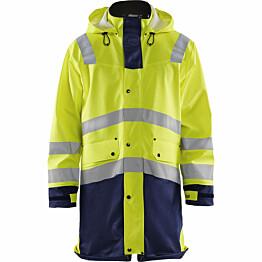 Huomiosadetakki Blåkläder 4306 Highvis huomiokeltainen/sininen