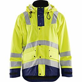 Talvisadetakki Blåkläder 4307 Highvis huomiokeltainen/sininen