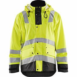 Talvisadetakki Blåkläder 4307 Highvis huomiokeltainen/musta