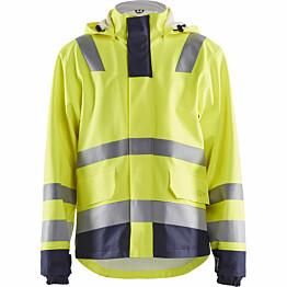 Palosuojattu sadetakki Blåkläder 4313 huomiokeltainen/sininen