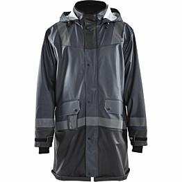 Sadetakki Blåkläder 4321 tummanharmaa/musta