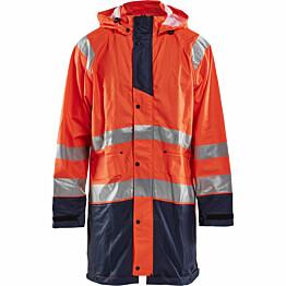 Sadetakki Blåkläder 4324 Highvis huomio-oranssi/sininen