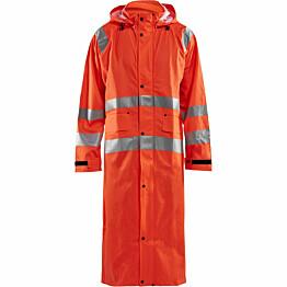 Pitkä sadetakki Blåkläder 4325 Highvis huomio-oranssi