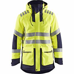 Talviparka Blåkläder 4469 Evolution Highvis huomiokeltainen/sininen