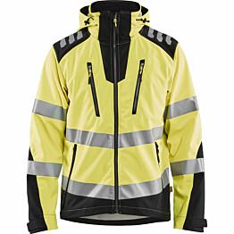 Softshell-takki Blåkläder 4491 Highvis huomiokeltainen/musta
