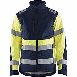 Softshell-takki Blåkläder 4497 Highvis mariininsininen/huomiokeltainen