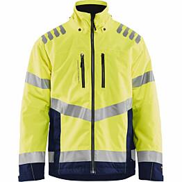 Talvitakki Blåkläder 4780 Highvis huomiokeltainen/sininen