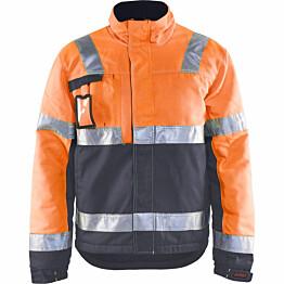 Talvitakki Blåkläder 4862 Highvis huomio-oranssi/harmaa