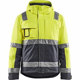Talvitakki Blåkläder 4870 Highvis huomiokeltainen/harmaa