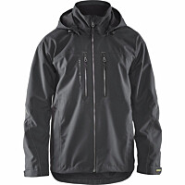 Kevyttoppatakki Blåkläder 4890 tummanharmaa/musta