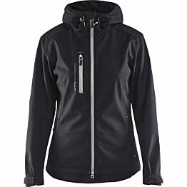 Naisten softshell-takki Blåkläder 4919 musta/harmaa