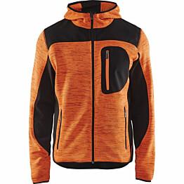 Softshell-takki Blåkläder 4930 huomio-oranssi/musta