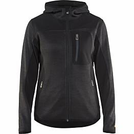Naisten softshell-takki Blåkläder 4931 tummanharmaa/musta