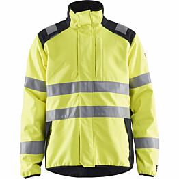 Palosuojattu softshell-takki Blåkläder 4948 Multinorm huomiokeltainen/sininen