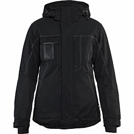 Naisten talvitakki Blåkläder 4971 musta