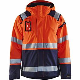 Kuoritakki Blåkläder 4987 Highvis huomio-oranssi/sininen