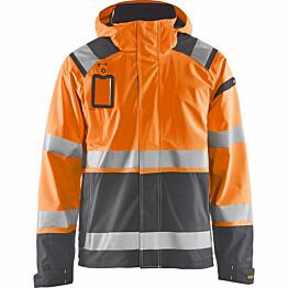 Kuoritakki Blåkläder 4987 Highvis huomio-oranssi/harmaa