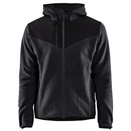 Softshell-takki Blåkläder 5940 tummanharmaa/musta