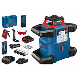Pyörivä laser Bosch Professional GRL 600 CHV, 18V, 4.0Ah akulla