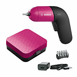 Akkuruuvinväännin Bosch IXO 6 akulla pinkki