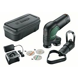 Akkuhiomakone Bosch EasyCurvSander 12V 2,5 Ah akulla