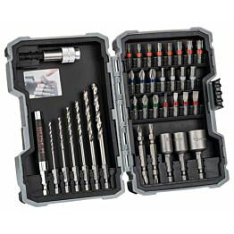 Poranterä- ja ruuvauskärkisarja Bosch Extra Hard Metal HSS 35 osaa