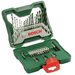 Poranterä- ja ruuvauskärkisarja Bosch X-Line 33 osaa